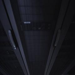 Rack mounted Servers Room Stock Footage