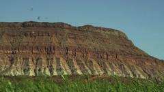 Desert Bluff Stock Footage