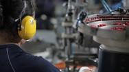 Pan manufacturers Stock Footage