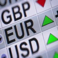 Euro. Up. Looping. Stock Footage