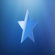 Star Blue 3d Icon Stock Footage