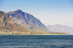 Seaside Town South Africa Stock Photos