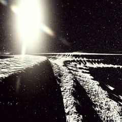 Moon surface or alien planet with craters 3d rendering Stock Footage