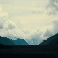 Great Mountains of Altai, Mongolia Stock Footage
