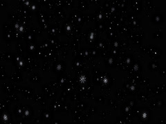 Snow Background. Loop animation. Alpha channel Stock Footage
