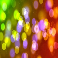 Abstract Loopable Background with nice multicolor bokeh Stock Footage