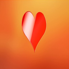 Like Heart Red 3d Icon Stock Footage