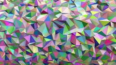 Abstract Low poly loop background Full HD Stock Footage