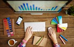 Data analysis Stock Photos