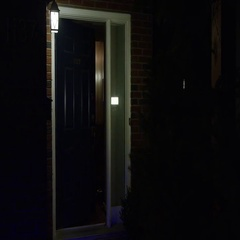 Burglary - Home broken into with Police Sirens Stock Footage