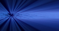 Blue volumetric light background FX Stock Footage