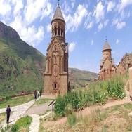 Noravank Monastery. Armenia Stock Footage