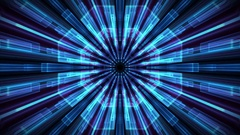 Seamless animation loop abstract background with camera motion in 4K. Stock Footage