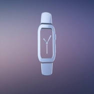 Smart Watch Silver 3d Icon Stock Footage