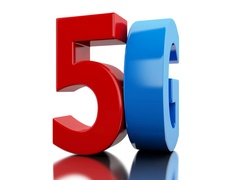 5G icon. Wireless communication technology. Stock Footage