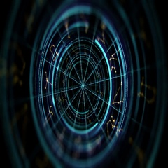 Astrology and alchemy sign background loop footage Stock Footage