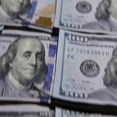 Cash Money Background Dollars Stock Footage
