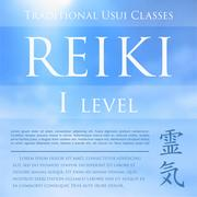 Sacred geometry. Reiki symbol. The word  is made up of two Japanese words, Rei Stock Illustration