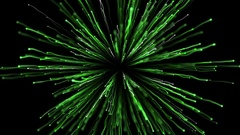 Explosion Green White Stock Footage