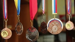 Collection of sports awards Arkistovideo