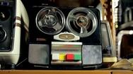 Vintage Audio Recorder Stock Footage