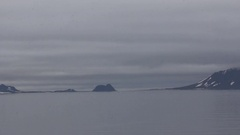 American Strait, Franz-Joseph Land. Stock Footage