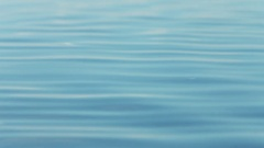Calm on the sea in the morning sun Stock Footage