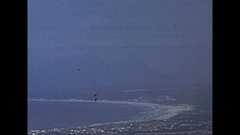 Vintage 16mm film, 1954, South Africa Cape Town, montage Stock Footage