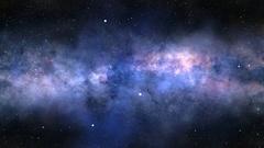 Interstellar travel Stock Footage