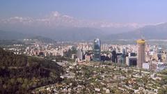 Santiago de Chile Stock Footage