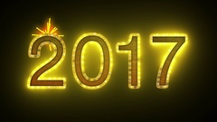 2017 Fireworks Stock Footage
