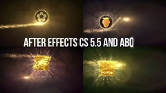 Gold Particles Logo Reveals v2. Stock After Effects