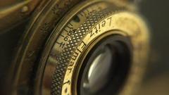 Leica Luftwaffe camera Stock Footage