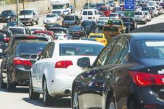 USA, New York State, New York City, Cars in city street Kuvituskuvat