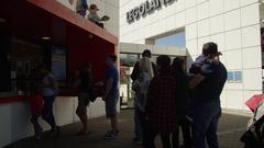 Tourists Visting LegoLand in Denmark Stock Footage