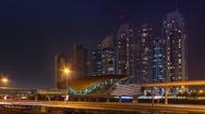 Urban skyline Stock Footage