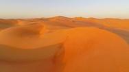 Desert landscape Stock Footage