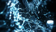 Glass Shot Multiple Times - 81 Stock Footage