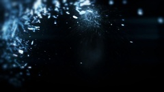 Glass Shot Multiple Times - 84 Stock Footage