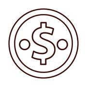 Money cash coin Stock Illustration