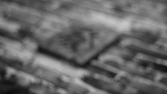 Hieroglyph monochrome brick Stock Footage