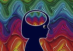 Sensory Overload in Children Stock Illustration