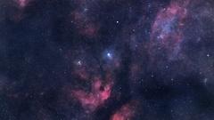 Loopable interstellar travel Stock Footage