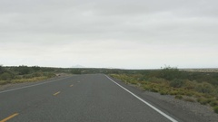 POV-New Mexico SR 9 along Mexico border El Paso to Columbus Stock Footage