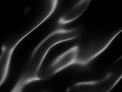 Black wavy fabric motion background seamless loop Stock Footage