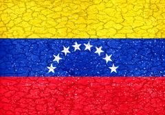 Venezuela Grunge Flag Stock Illustration