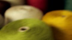 Thread cotton Stock Footage