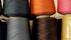 The thread cotton Stock Footage