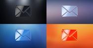 Envelope 3d Icon Stock Footage