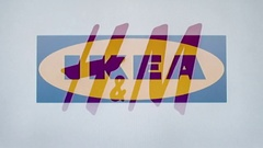 Logos brands company industry technology media Stock Footage